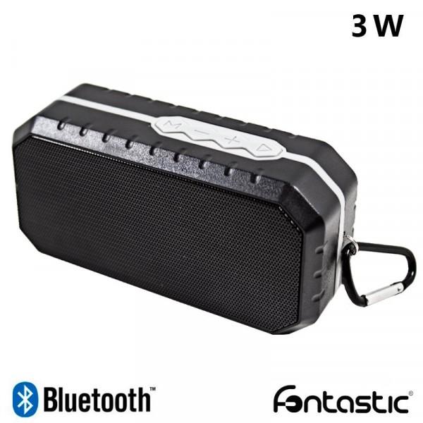 Altavoz Bluetooth Rectangular Fontastic Step Negro (3W)