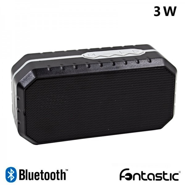 Altavoz Bluetooth Rectangular Fontastic Step Negro...