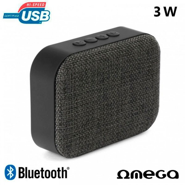 Altavoz Bluetooth Rectangular Fontastic Step Gris ...