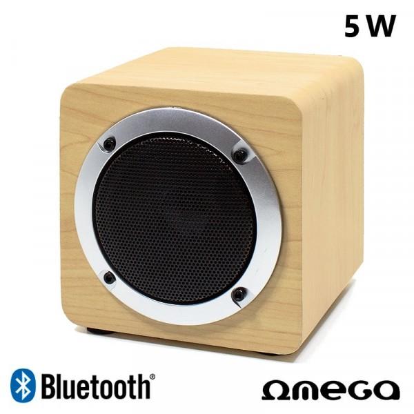 Altavoz Música Universal Bluetooth Marca Omega Cu...