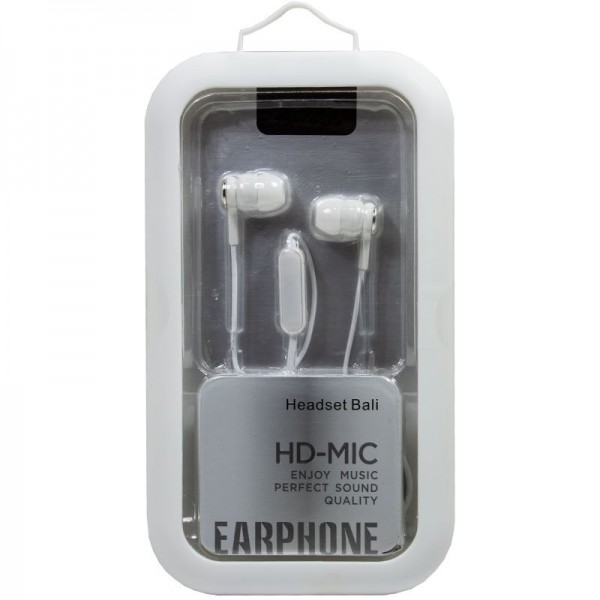 Auriculares 3,5 mm COOL Bali Stereo Con Micro Blan...