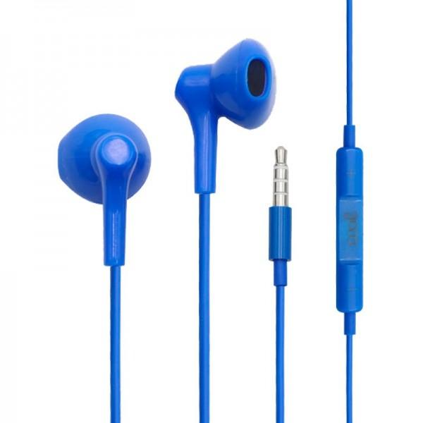 Auriculares 3,5 mm COOL Bora Stereo Con Micro Azul