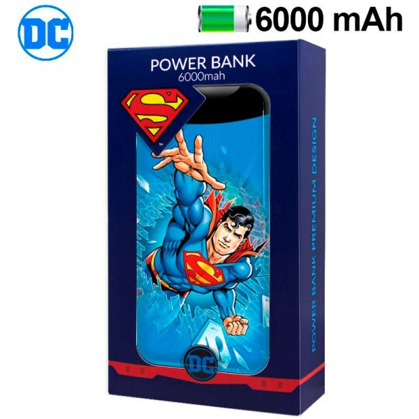 Bateria Externa Micro-Usb Power Bank 6000 MAh Lice...