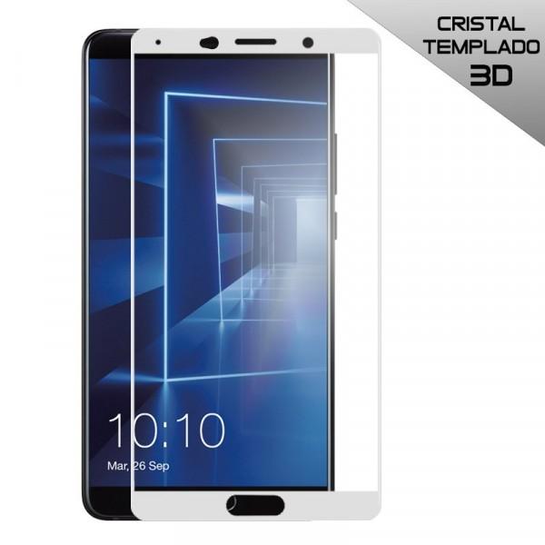 Protector Pantalla Cristal Templado Huawei Mate 10 (3D Blanco)