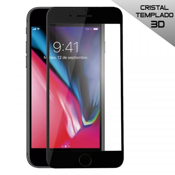 Protector Pantalla Cristal Templado IPhone 7 / IPhone 8 (FULL 3D Negro)