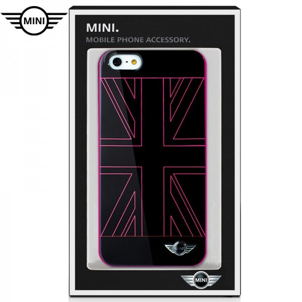 Carcasa  Licencia Mini Cooper UK Rosa Iphone 7 PLu...