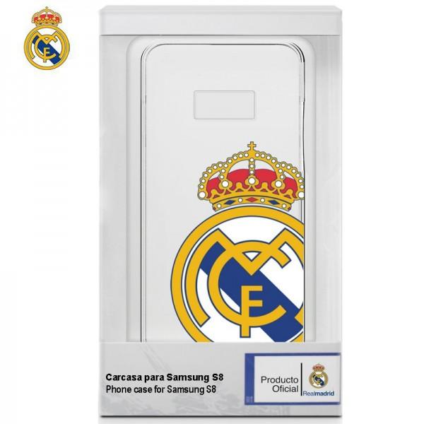 Carcasa  Galaxy S8 Licencia Fútbol Real Madrid