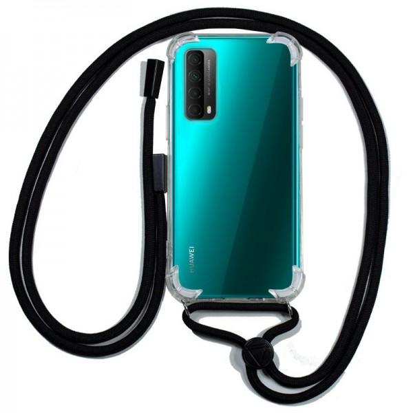 Carcasa COOL para Huawei P Smart 2021 Cordón Negr...