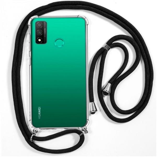 Carcasa COOL para Huawei P Smart 2020 Cordón Negr...