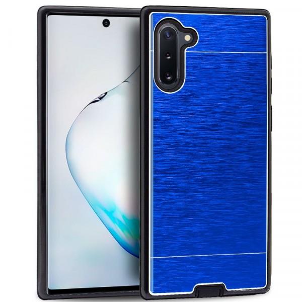 Carcasa Samsung Galaxy Note 10 Aluminio (Azul)