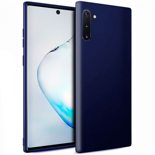 Funda Silicona Samsung Galaxy Note 10 (Azul)