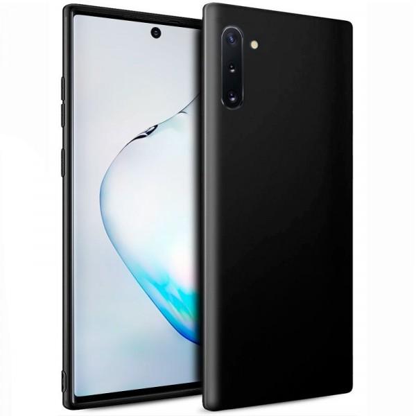 Funda Silicona Samsung Galaxy Note 10 (Negro)
