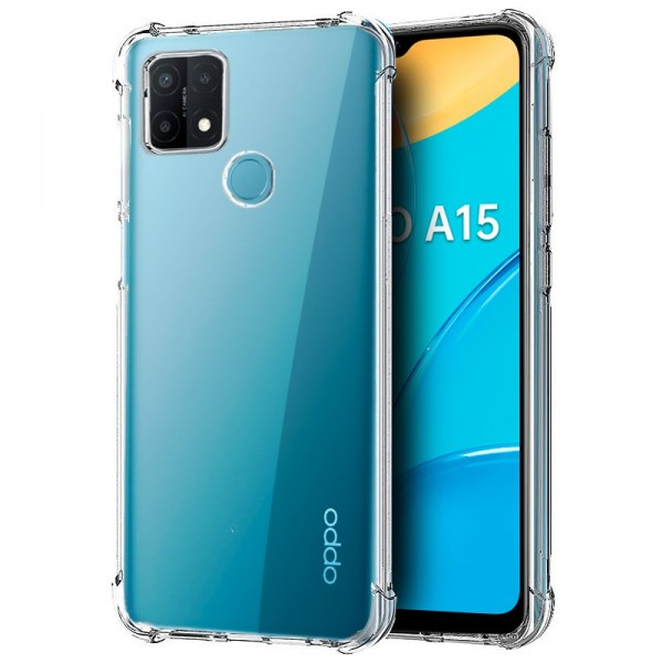 Carcasa COOL para Oppo A15 / A15s AntiShock Transp...