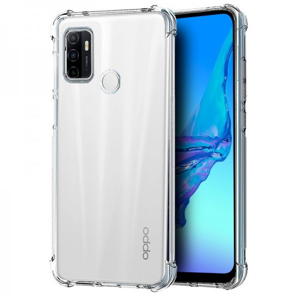 Carcasa COOL para Oppo A53 / A53s AntiShock Transp...