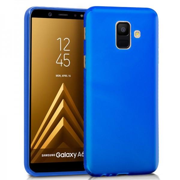 Funda Silicona Galaxy A6 Azul