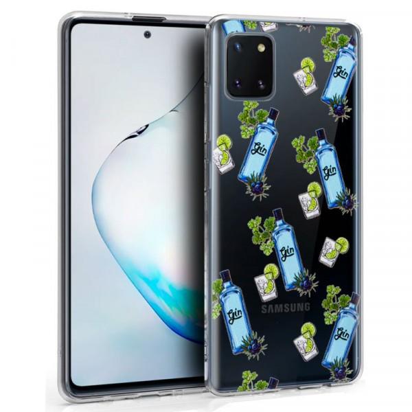 Funda Silicona Gin Samsung Galaxy Note 10 Lite