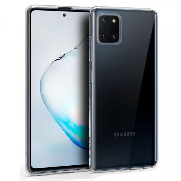 Funda Silicona Transparente Samsung Galaxy Note 10...