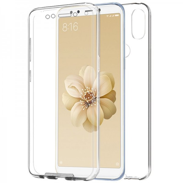 Funda Silicona 3D Transparente Xiaomi Mi A2 / Mi 6...