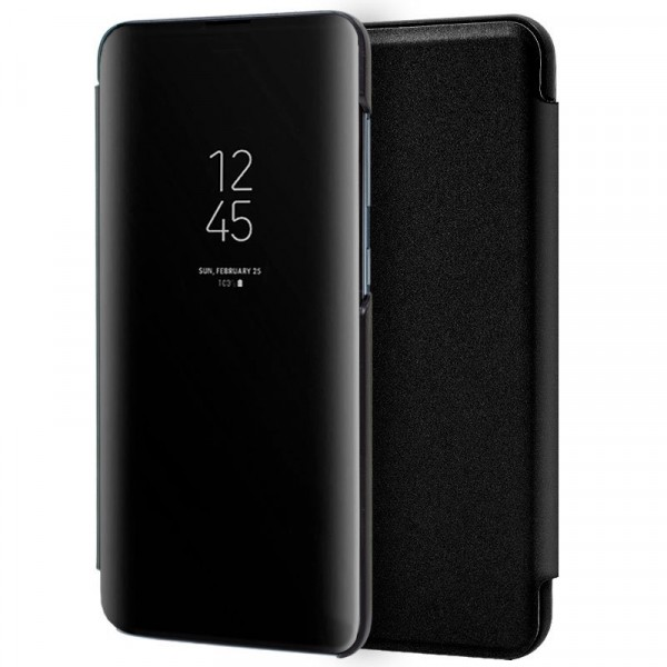 Funda Clear View Negra Xiaomi Mi Note 10/10Pro