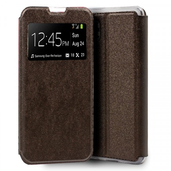 Funda Flip Cover Bronce Xiaomi Mi Note 10/10Pro