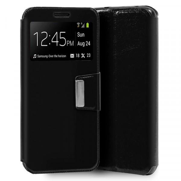 Funda Flip Cover Negra Xiaomi Mi Note 10/10Pro