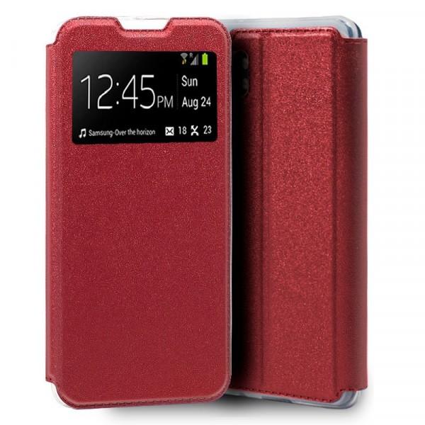 Funda Flip Cover Roja Xiaomi Mi Note 10/10Pro