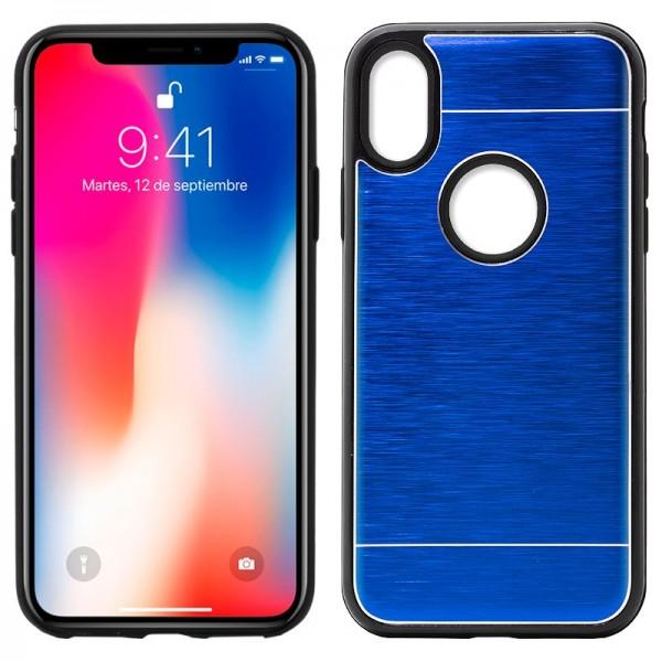 Carcasa Aluminio iPhone X / iPhone Xs Azul