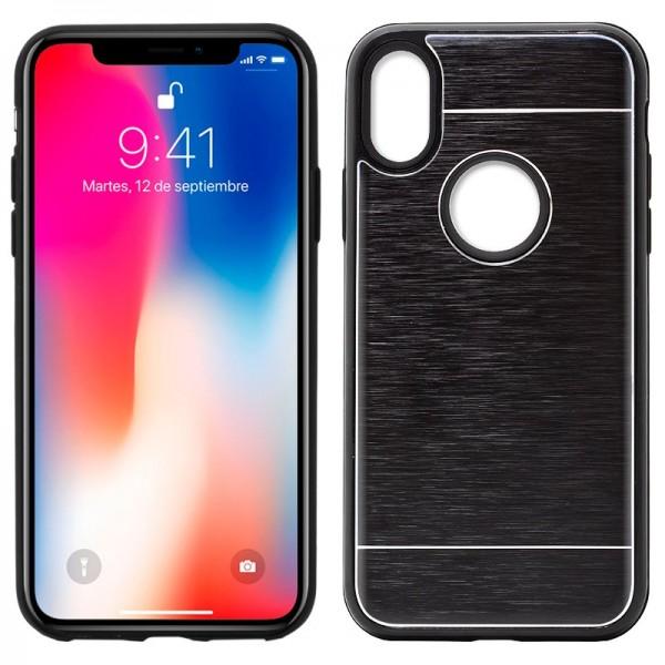 Carcasa Aluminio iPhone X / iPhone Xs Negro