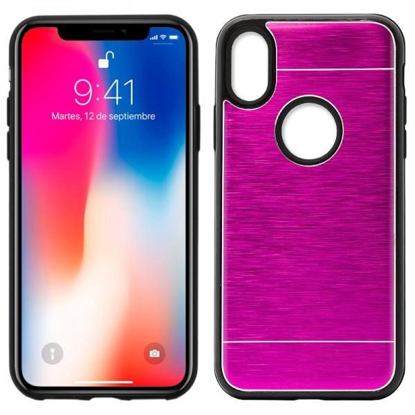 Carcasa Aluminio iPhone X / iPhone Xs Rosa