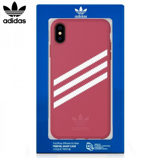Carcasa Adidas Stripes iPhone Xr Rosa