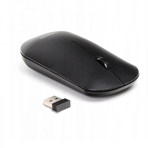 Ratón Inalámbrico Omega Wireless Slim Negro