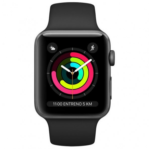 Apple Watch Series 3 Aluminio Gris Espacial