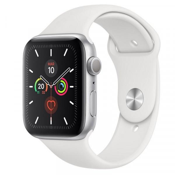 Apple Watch Series 5 Aluminio Plata