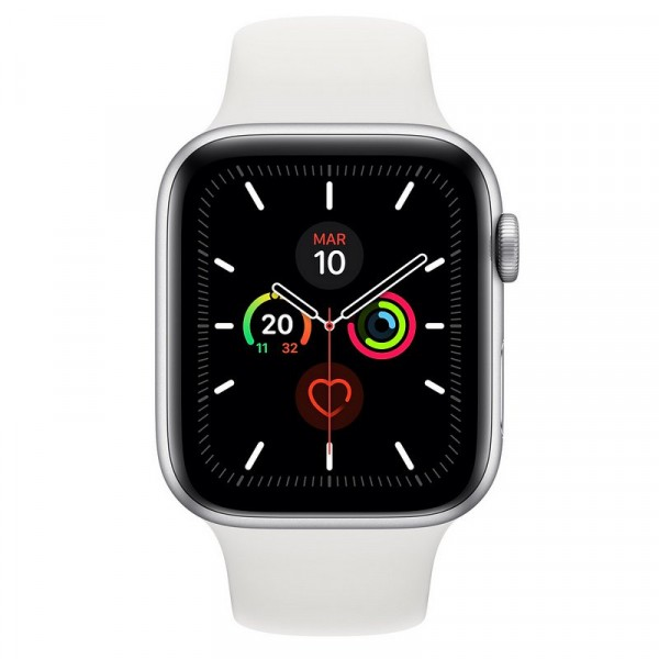 Apple Watch Series 5 Aluminio Plata