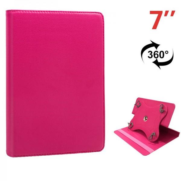 Funda COOL Ebook / Tablet 7 pulg Polipiel Rosa Gir...