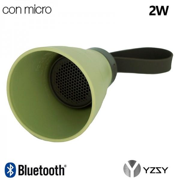 Altavoz Bluetooth Cono Plegable YZSY Sali Khaki (2...