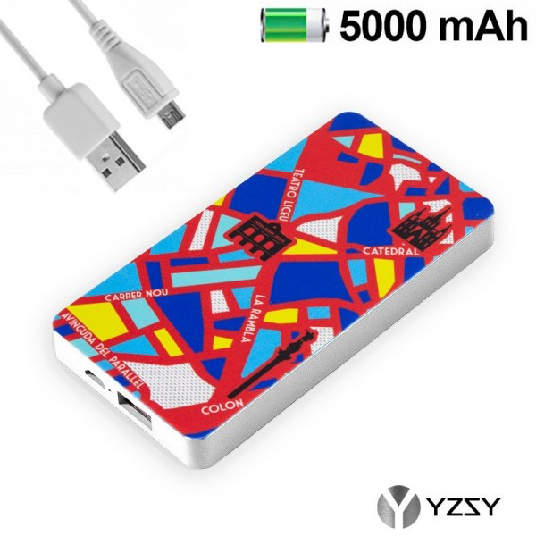 Bateria Externa Micro-usb Power Bank 5000 mAh City...