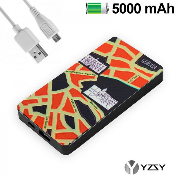 Bateria Externa Micro-usb Power Bank 5000 mAh City...