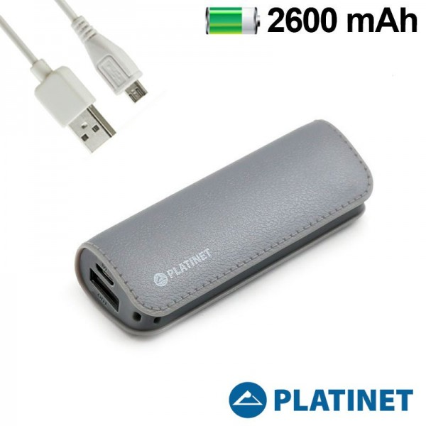 Bateria Externa Micro-usb Power Bank 2600 mAh Colo...