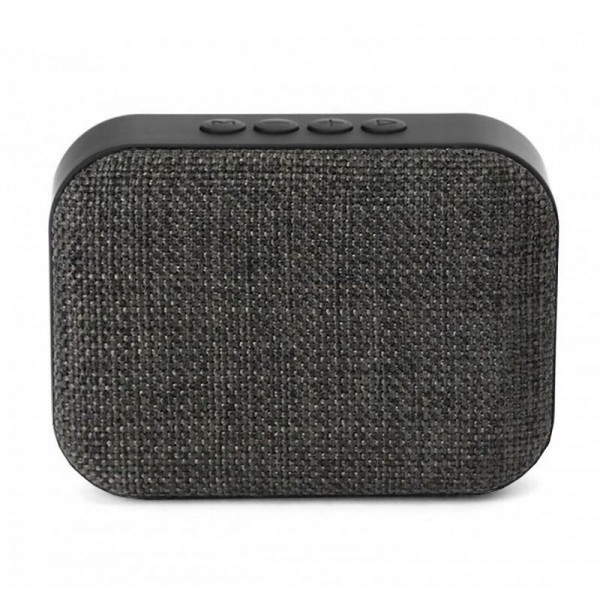 Altavoz Bluetooth Rectangular Omega Tela Gris (3W)