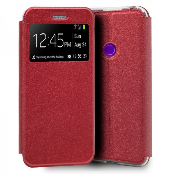 Funda COOL Flip Cover para Realme 5 Pro Liso Rojo