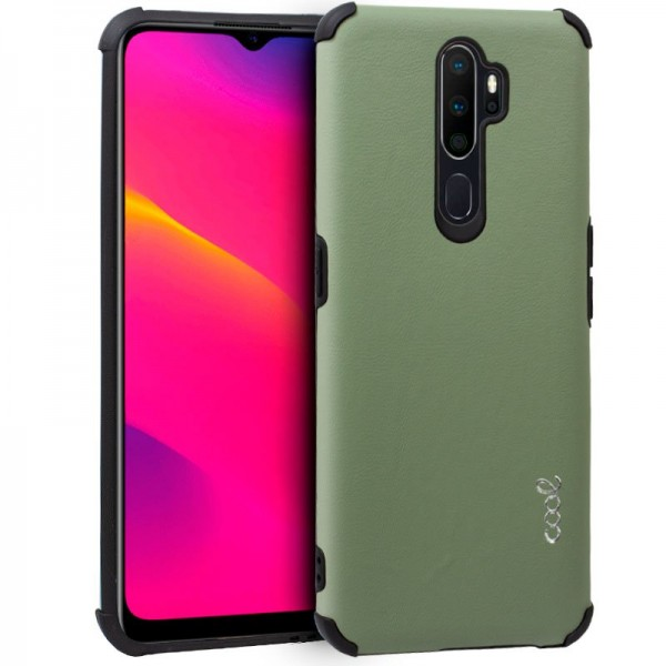 Carcasa Oppo A5 (2020) / A9 (2020) AntiShock Verde