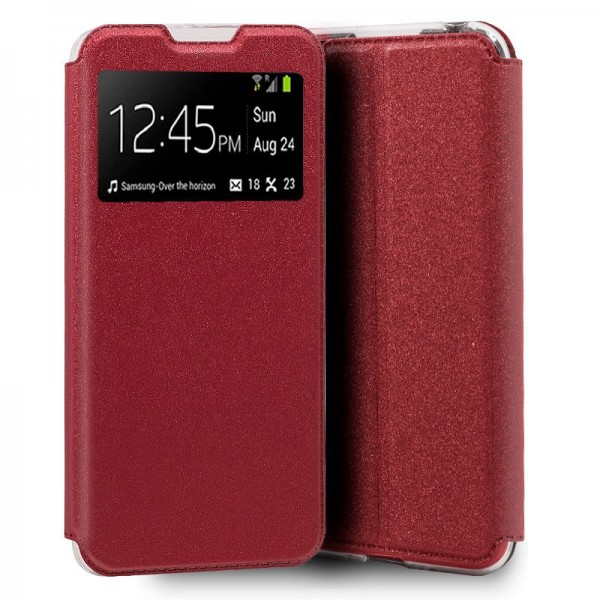 Funda COOL Flip Cover para Realme 6 / 6s Liso Rojo