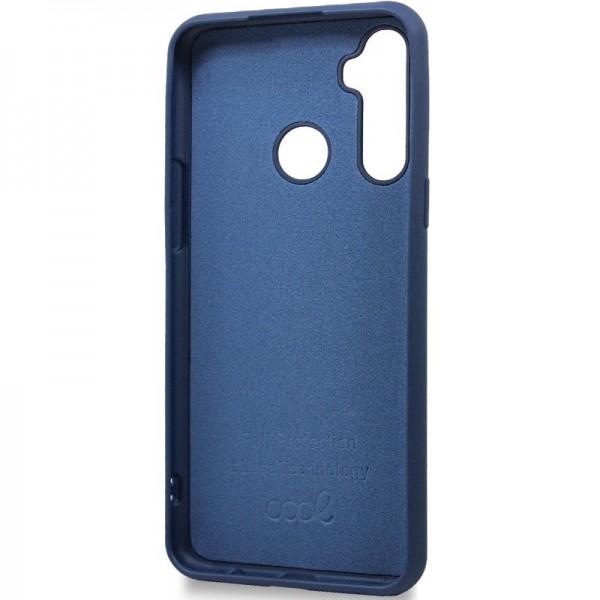 Carcasa COOL para Realme C3 Cover Azul