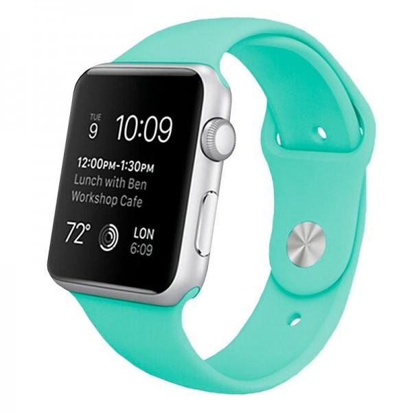 Correa COOL para Apple Watch Series 1 / 2 / 3 / 4 / 5 / 6 / 7 / SE (38 / 40 mm) Goma Mint