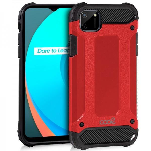Carcasa COOL para Realme C11 Hard Case Rojo