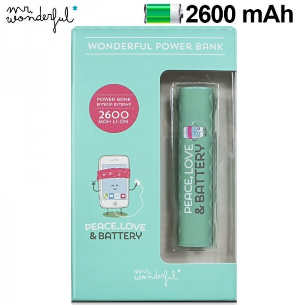 Bateria Externa Micro-usb Power Bank 2600 mAh Lice...