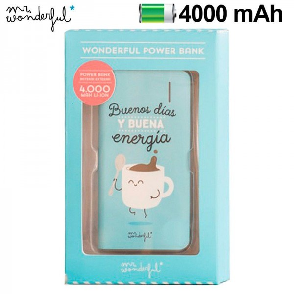 Bateria Externa Micro-usb Power Bank 4000 mAh Lice...