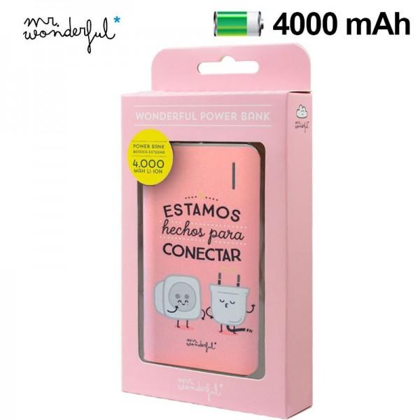 Bateria Externa Micro-usb Power Bank 4000 mAh Lice...