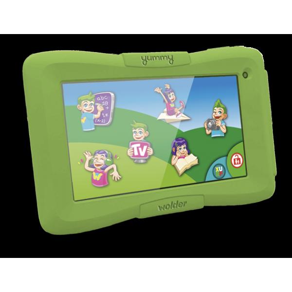Tablet Infantil - Wolder miTab Yummy + funda prote...
